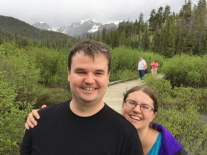 Toward the bottom of the national park