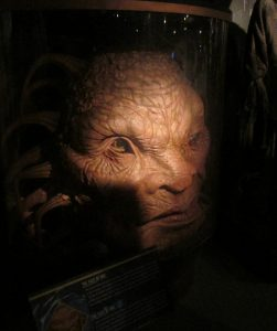 The Face of Boe from the Doctor Who Experience in Cardiff in 2014